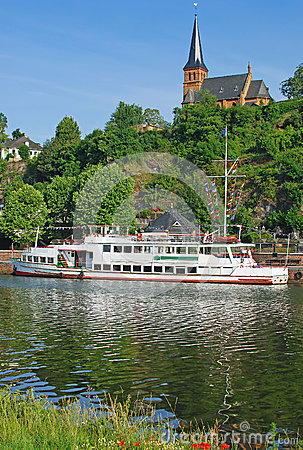 Saarburg,Saar River,Germany