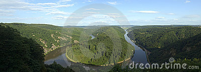 Saarschleife - flod Saarland