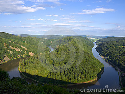 Saarschleife - river Saar