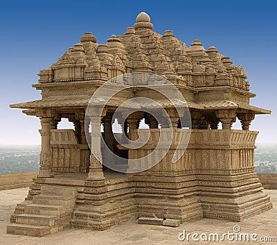 Saas Bahu - Gwalior Fort - India