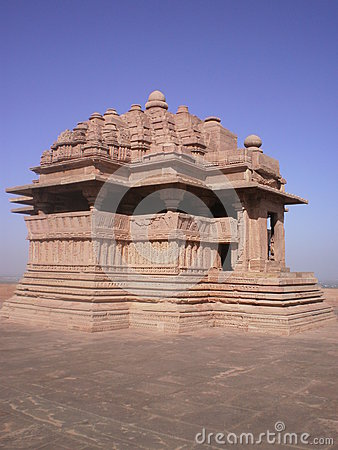 Free Saas Bahu Temple (Sahastrabahu Temple) Royalty Free Stock Photos - 52214358