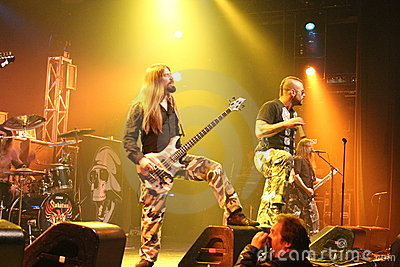 Sabaton at Best Buy Theater Editorial Stock Image