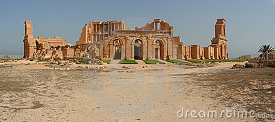 Sabratha s amphitheatre