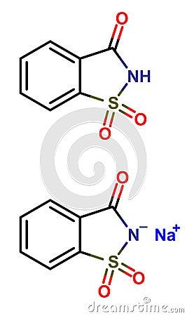 Saccharin formula