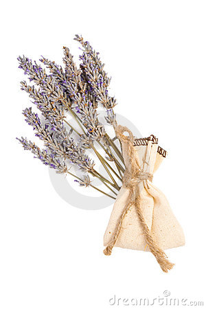Sachet with aroma lavender