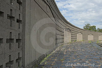 Sachsenhausen concentration camp Editorial Image