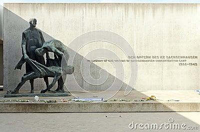 Sachsenhausen Editorial Stock Photo