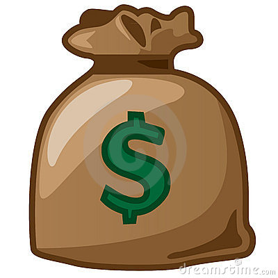 A sack of dollar