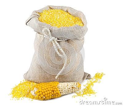 Sack of maize flour