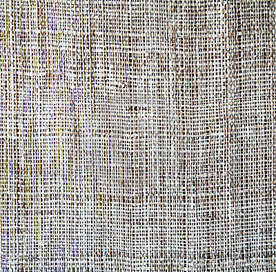 Sackcloth texture as background
