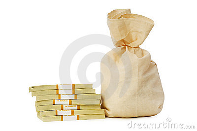 Sacks of money