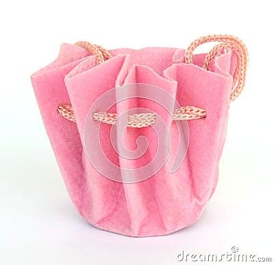 Saco cor-de-rosa do jewelery