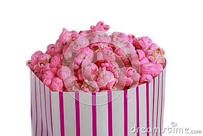Resultado de imagem para pipoca cor de rosa