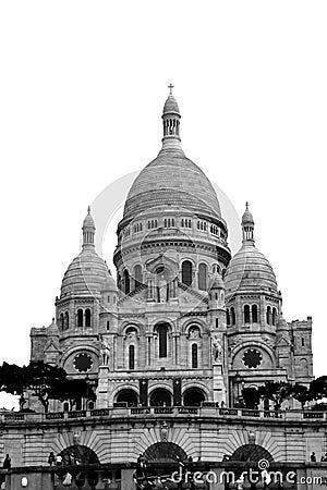 Sacré-Cœur, Paris Editorial Photography
