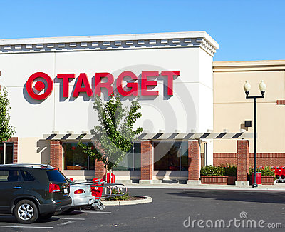SACRAMENTO, USA - SEPTEMBER 23:  Target store on September 23, 2 Editorial Stock Photo