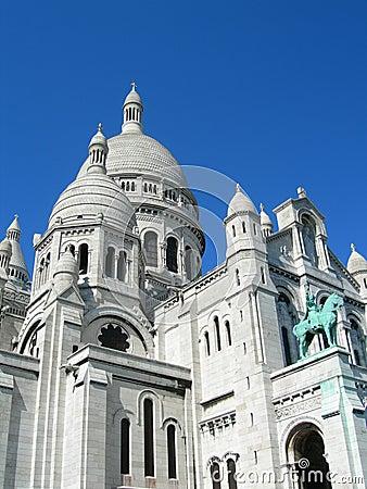 Free Sacre Ceure Cathedral Paris Stock Photos - 22869313