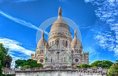 Sacre Coeur,蒙马特,巴黎