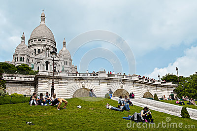 Sacre Coeur Editorial Stock Photo