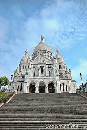 Free Sacre-Coeur Basilica, Montmartre, Paris Royalty Free Stock Images - 14795589