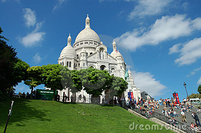 The Sacre-Coeur Basilica, Paris