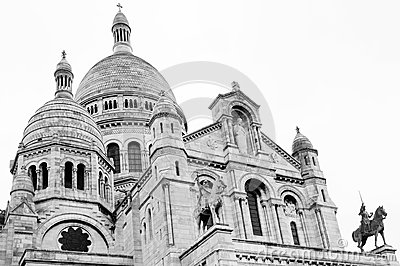 Sacre coeur Cathedral - Paris