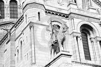 Sacre coeur Cathedral - Paris, detail