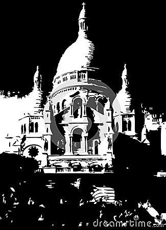 Sacre Coeur Church Paris France