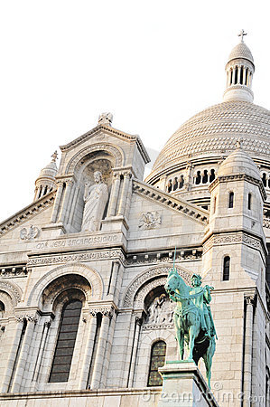 Free Sacre-Coeur In Paris Royalty Free Stock Photography - 19014467
