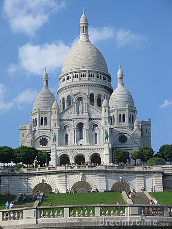 Free Sacre Coeur, Montmartre Royalty Free Stock Photography - 566217