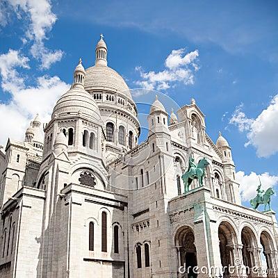 Free Sacre Coeur Of Paris Royalty Free Stock Photo - 16358245