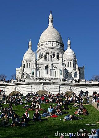 Sacre Coeur of Paris