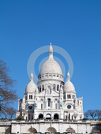 Free Sacre Coeur Paris Stock Photos - 30285173