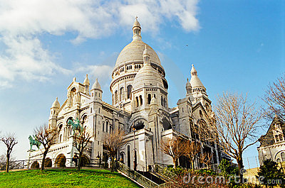 Sacre Coeur, Paris France