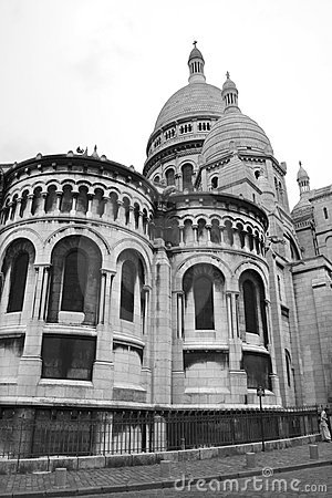 Sacre-couer cathedral in Paris