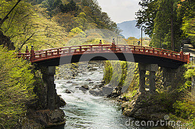 Sacred bridge Shinkyo, Nikko