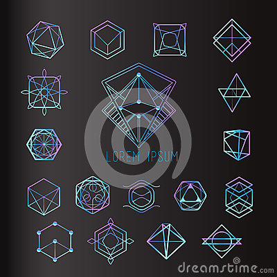 Free Sacred Geometry Forms Royalty Free Stock Image - 58673096