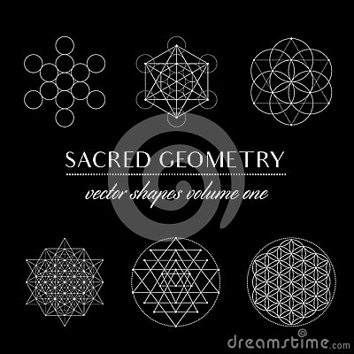 Free Sacred Geometry Volume One Stock Image - 86473041