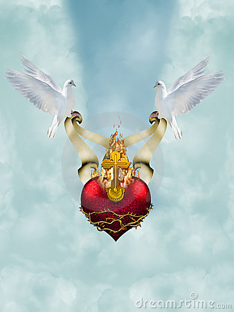 Sacred Heart Stock Photos - Image: 5240263