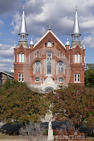 Free Sacred Heart Cultural Center And Church In Augusta Georgia Royalty Free Stock Image - 100033406