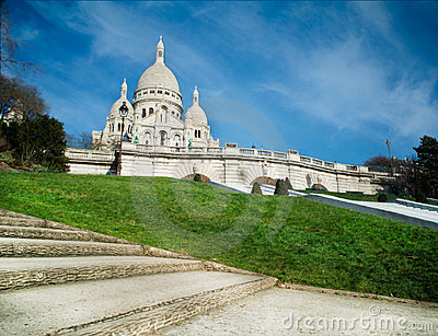 Sacred Heart in Montmartre - Paris - France