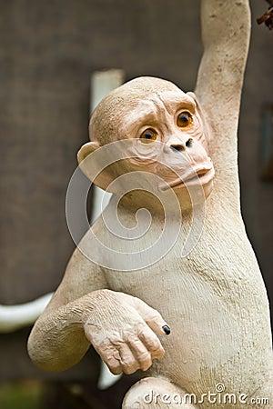 Sacred monkey stone