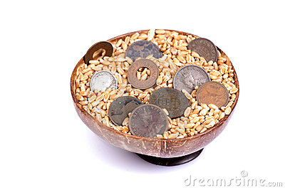 Sacred wheat and money
