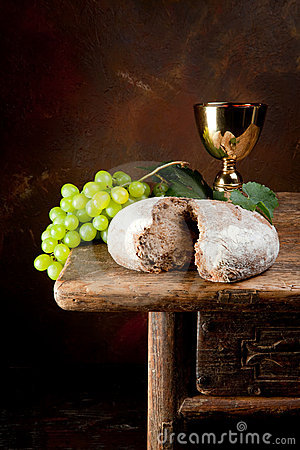 Sacred wine and bread