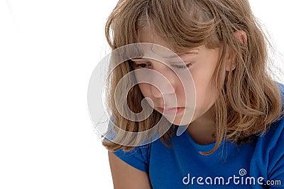 Sad Adolescent