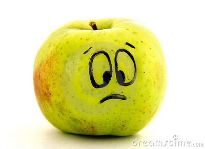Sad apple