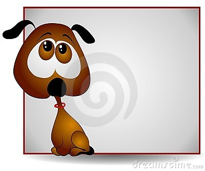 Sad Big Eyed Puppy Banner