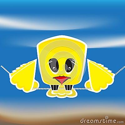 Sad bird