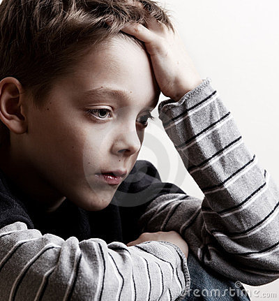 Free Sad Boy Stock Photos - 23402053