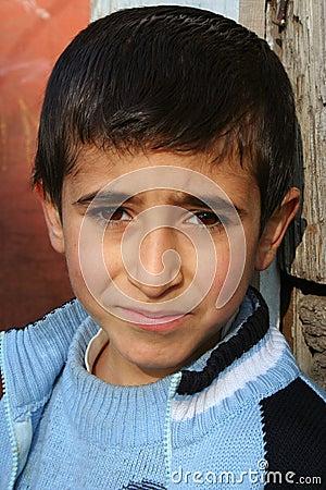 Sad boy portraits