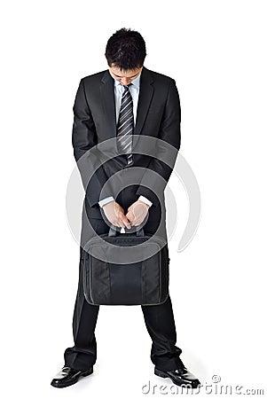 Free Sad Business Man Stock Image - 15223911